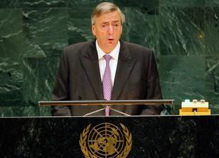 Néstor en la ONU