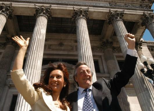 Nestor Kirchner en el Congreso 2004