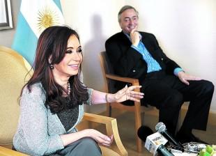 Nestor y Cristina en NY