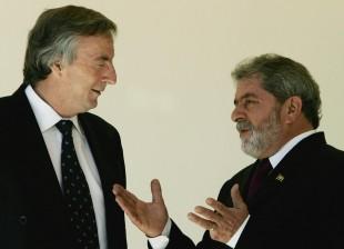 Nestor Kirchner y Lula