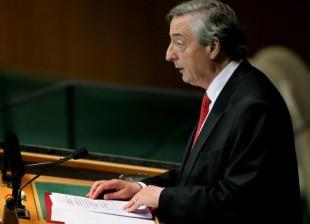 Nestor Kirchner en la ONU695bdb119