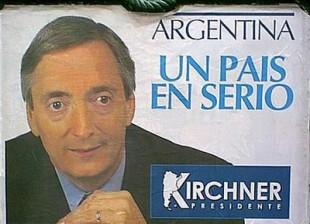 Nestor Kirchner Argentina