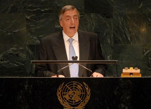 Nestor Kirchner ONU 2007