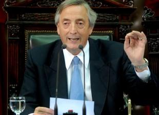 Nestor Kirchner Asamblea Legislativa 2007