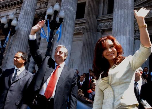 Nestor y Cristina Asamblea Legislativa 2006
