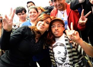 Cristina Kirchner en la Universidad de Avellaneda