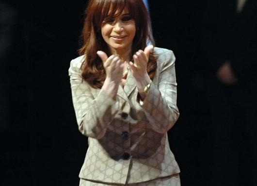 CFK en el Teatro Argentino