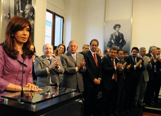 Cristina Kirchner Asignacion Universal por Hijo