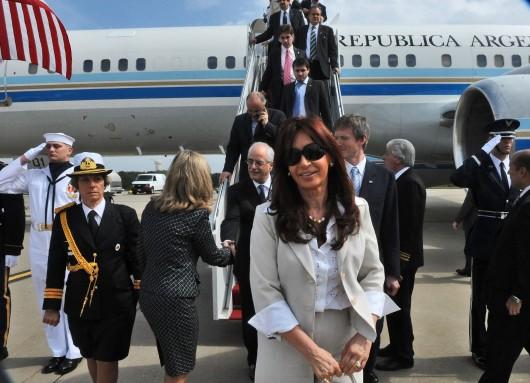 Cristina en la ONU 2009