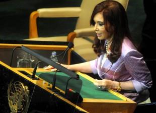 Cristina en la ONU 2010
