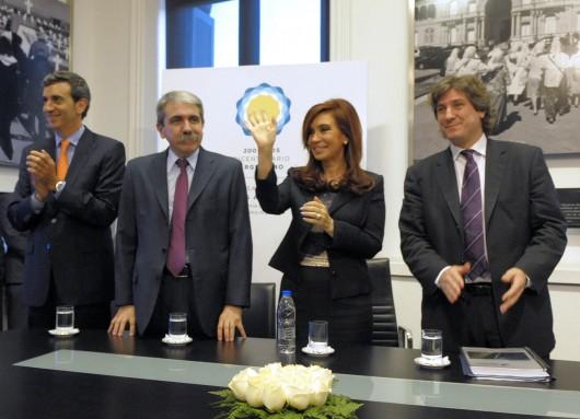 Cristina Kirchner y Papel Prensa