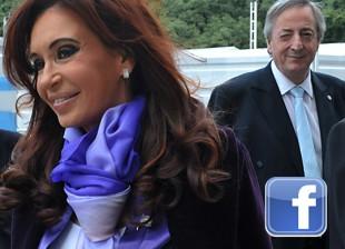 Cristina Kirchner en facebook