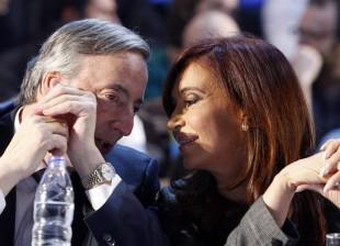 Néstor Kirchner y Cristina Kirchner