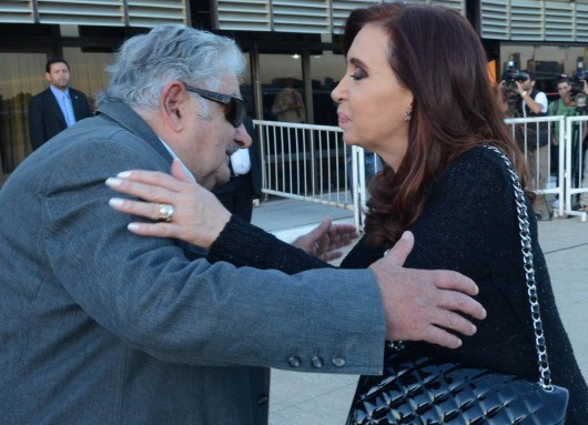 Cristina Kirchner y Pepe Mujica