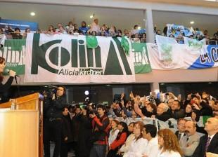 CFK en Rio Gallegos
