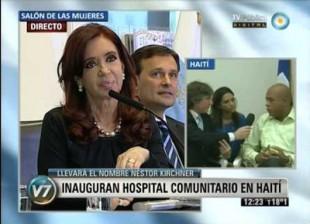 Hospital Nestor Kirchner -en-Haiti