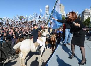 Cristina en Rosario