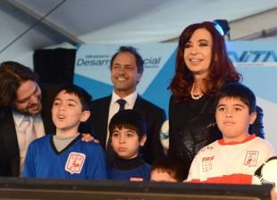 Nuevo estadio Club Deportivo Morón y Juegos Evita 2013