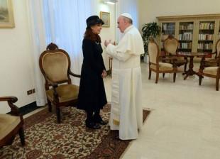CFK-con-el-Papa