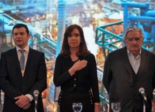 Cristina en Uruguay