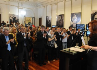 La Presidenta anuncia aumento del mínimo no imponible de Ganancias