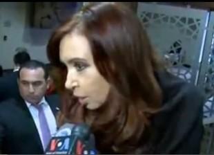 Declaraciones de Cristina al cierre de las sesiones del Consejo de Seguridad de Naciones Unidas