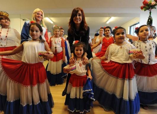 Inauguración de la Casa de la Cultura Villa 21 Barracas
