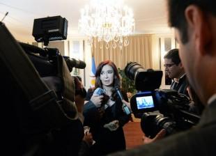 Cristina en la Cumbre del G20 en San Petersburgo