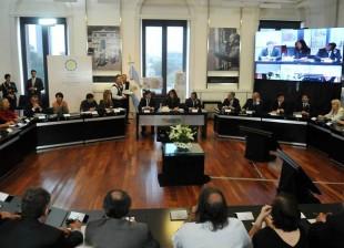 Cristina se reunió con empresarios y sindicalistas en el marco de los encuentros multisectoriales convocados por el Gobierno.