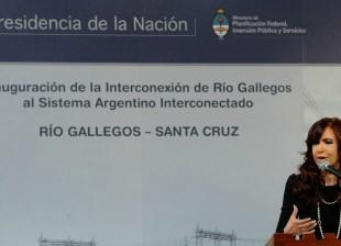 Integramos Río Gallegos al sistema eléctrico interconectado