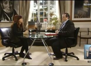 Entrevista a Cristina Kirchner