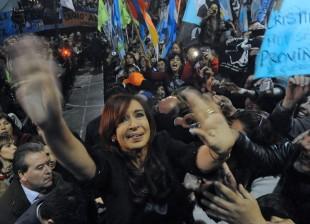 Cristina en Quilmes