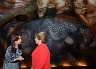 Cristina Kirchner y Michelle Bachelet