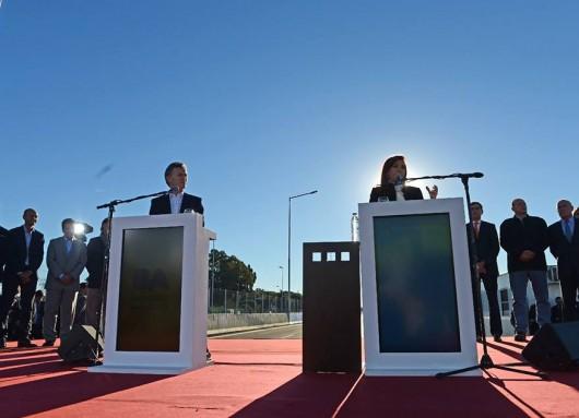 Inauguramos la ampliación de la Autopista Illia.