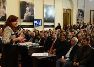 Cristina Kirchner empresa Donnelley