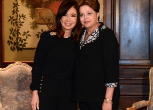 Dilma y Cristina