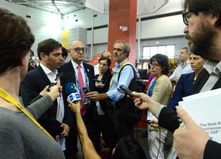 Kichillof y Timerman en el G20 Australia