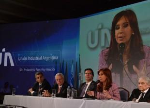 Cierre de la Convención Anual de la Unión Industrial Argentina.