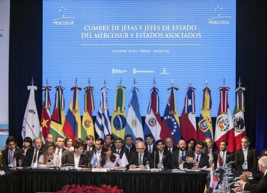 Cristina en Mercosur, Entre Rios