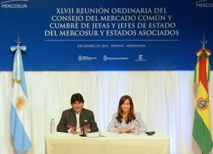 Firma de convenio con el Estado Plurinacional de Bolivia.