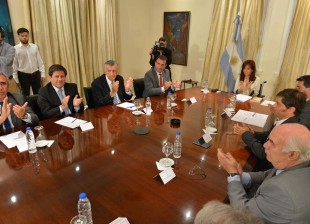 La Presidenta encabezó la firma de convenios con el sector vitivinícola