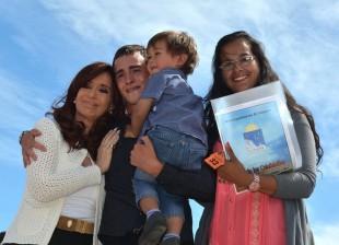 Cristina Kirchner. El Calafate, Santa Cruz.