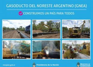 #GNEA Empezó la 1°soldadura del Gasoducto del Noreste Argentino #PlanEnergéticoNacional