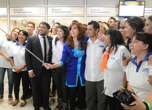 Inauguración del nuevo edificio municipal de Berazategui.