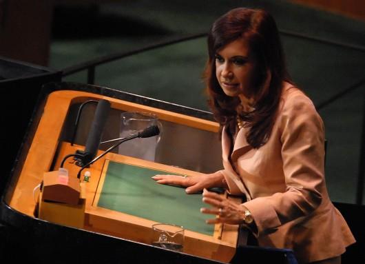 Cristina Kirchner UN 2008