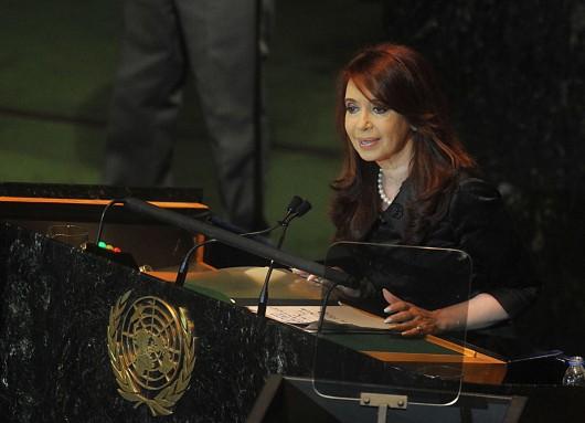 Cristina Kirchner UN 2011