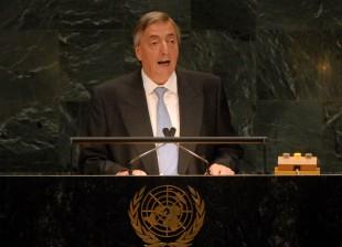 25-09-07 Nueva York: El Pte. Kirchner habla en la asamblea de la O.N.U.
