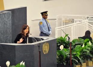 Cristina Kirchner UN 2013