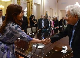 Cristina Kirchner. Foro Internacional Emancipación e Igualdad.