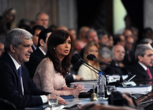 Cristina Kirchner. Iniciamos las Sesiones Ordinarias del Congreso Nacional 2015.